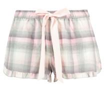 Pyjamashorts Check Rosa