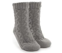 Socken Knit Grau