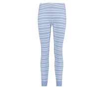Leggings Knit Blau