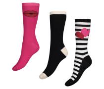 3 Paar Socken Schwarz