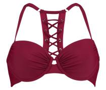 Vorgeformtes Bügel-Bikinitop American Boho Demi Rot