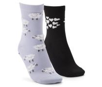 3 Paar Socken Badger Schwarz