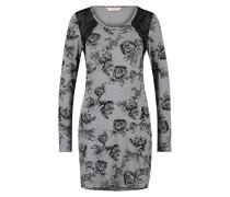 Langarm-Nachthemd Pam Dot Grau