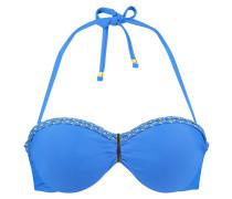 Push-up-Bikinitop Amazonia Blau