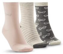 3 Paar Socken Grau