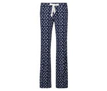 Pyjamahose, Jersey Blau