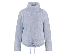 Fleece Sweater Schaf Blau