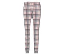 Pyjamahose, Fleece Rosa