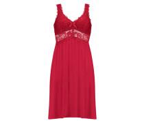 Model lace slipdress Rot