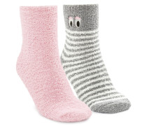 2 Paar Socken Grau