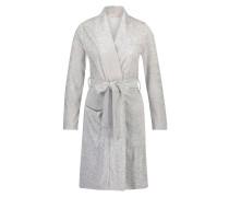 Robe Jersey Jacquard Grau