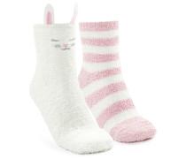 2 Paar Socken Weiß