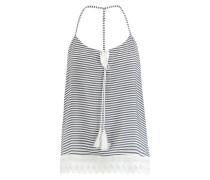 Top Stripes & Shells Weiß