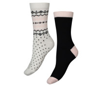 Socken, 2er-Pack winter Grau