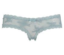Brazilian V-shape, mesh Blau