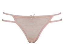 String Strappy Lace Rosa