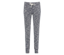 Lange Sweatpants Blau