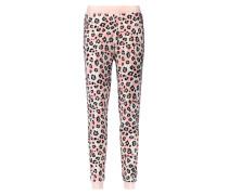 Pyjamahose Fleece Rosa