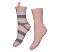 Socken, 2er-Pack, Cos Animal Rosa
