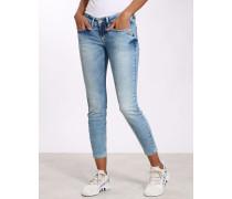 Gang Faye Skinny Fit Jeans mit verkürzter Beinlänge