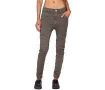 Gang Giulia Deep Crotch Slim Fit Cargo Damen Hose