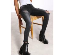 Gang Tina Super Skinny Ripped Jeans
