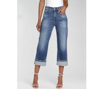 GANG Gloria cropped - straight fit Jeans
