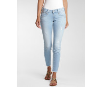 Nena Skinny Fit Cropped Jeans