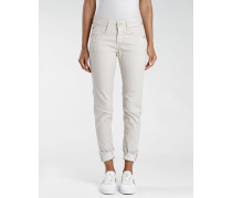 Amelie - Relaxed Fit Damen Hose - creme