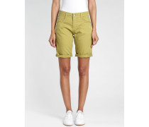 Amelie - Relaxed Fit - Bermuda Shorts - grün