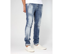 Salvo Low Crotch Slim Fit Jeans