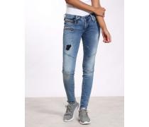Gang Nena Skinny Fit Biker Jeans