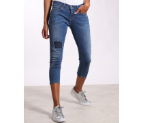 Gang Arcacia Cropped Skinny Fit Jeans