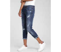 Amelie Cropped Fit Jeans