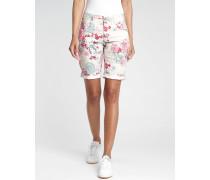 Amelie - Relaxed Fit - Bermuda Shorts - blumen print