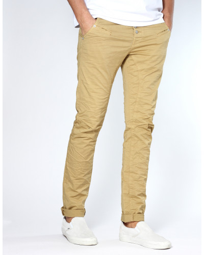 Salvo Low Crotch Slim Fit Hose