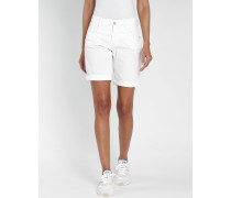 Amelie - Relaxed Fit - Bermuda Shorts - weiss