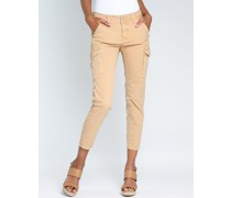 GANG Amelie Cargo cropped - relaxed fit Hose
