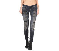 Gang Valencia Relaxed Fit Destroy Damen Jeans