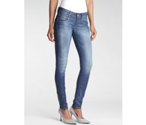 Nena Coated Skinny Fit Jeans