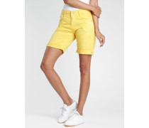Amelie - Relaxed Fit - Bermuda Shorts - gelb