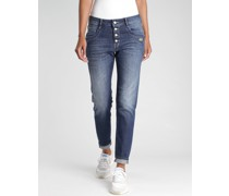Sophia Cropped Relaxed Fit Jeans