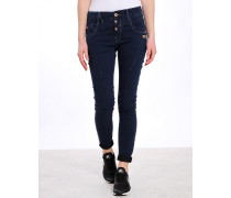 New Georgina Slim Deep Crotch Jeans