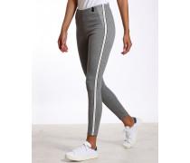 Roxanna Super Skinny Stoffhose mit Seitenstreifen