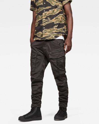 Rovic Zip 3D Tapered Cargo Pants