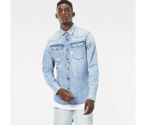 3301 Quilted Denim Hemd