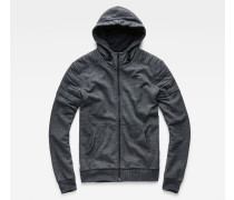 Odiron Suzaki Hooded Zip Sweater