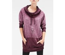 Reffit Boyfriend Long Hooded Sweater