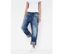 Arc Braces Oversize 3D Low Boyfriend Jeans