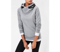 Moemi Slim Hooded Sweater